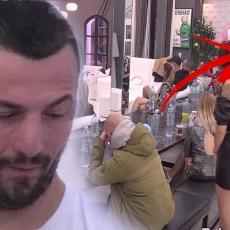 KAMERA UHVATILA SKANDAL - Tomović je ŠČEPAO ZA KOSU, pa je VUKAO po stolu! Milioni šokirani prizorom