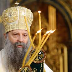 KAO JAJE JAJETU, ISTI SU! Rođeni brat Porfirija, otac Srđan neverovatno liči na patrijarha, ispunio dat amanet (FOTO)