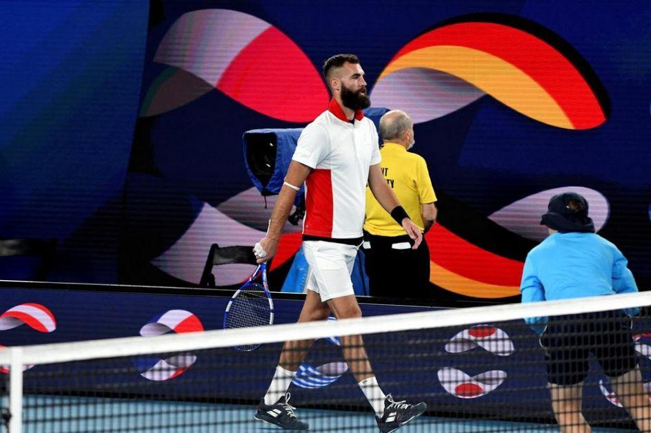 KARAKTER MU DOŠAO GLAVE: Francuz izbačen iz tima za Olimpijske igre