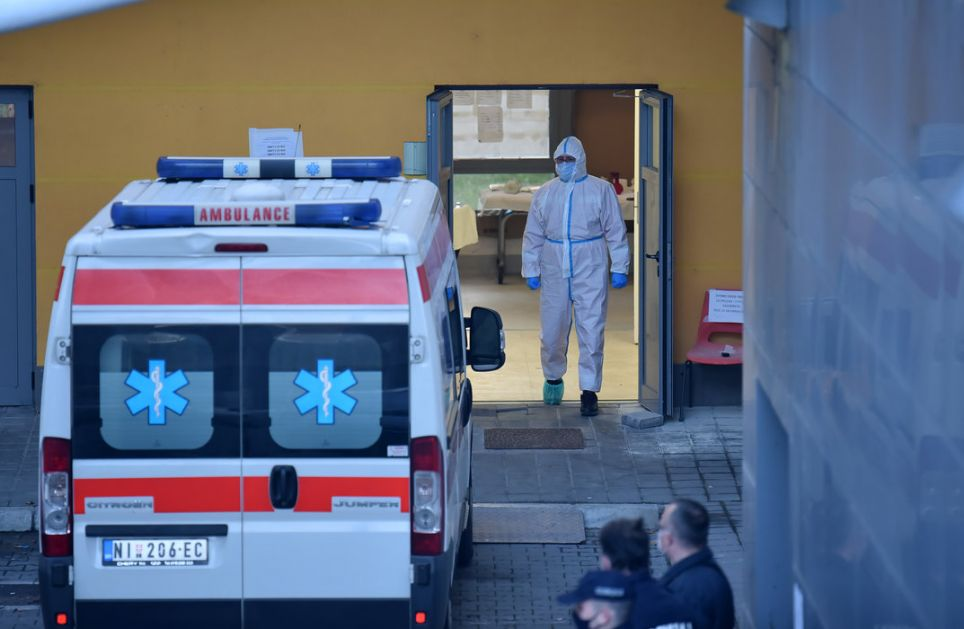 KC Niš: Hospitalizovano 347, preminulo sedam osoba