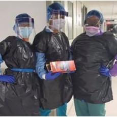 KESE ZA SMEĆE UMESTO MASKI: Medicinske sestre u Americi ovako rade sa zaraženima! Bolnica kao pakao u kojem umiru lekari (FOTO)