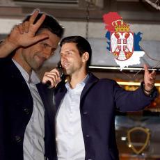 KIDAM VAM ŽIVCE, KIDAM I SEBI... Novak se obratio na dočeku u Beogradu! Gigantska poruka za CELU SRBIJU (FOTO/VIDEO)