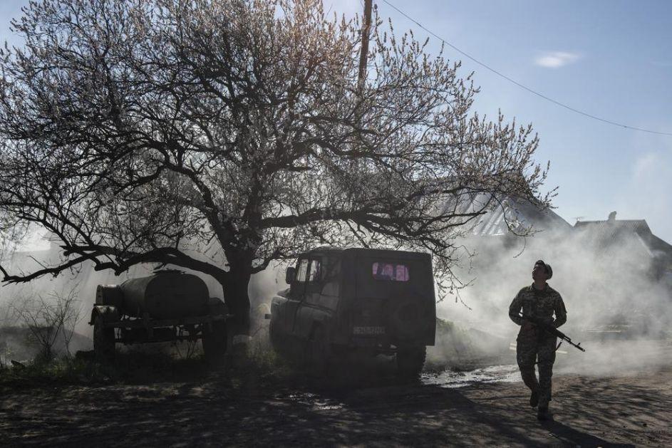 KIJEV KRENUO U OFANZIVU: Vojska Ukrajine zauzela nove položaja kod Donjecka! NIKADA NISU BILI BLIŽE!