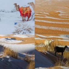 KLIMATSKE PROMENE SU STVARNOST: Naučnici upozoravaju da će sneg u Sahari i tropima postati nova realnost!