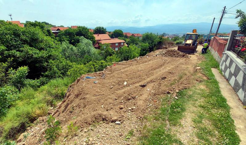KLIZIŠTE na obodu grada, sanacija u Ulici Vinogradarskoj