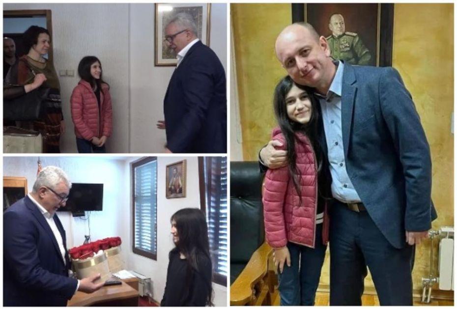 KNEŽEVIĆ I MANDIĆ UGOSTILI MLADU BILJANU ČEKIĆ: Ona je dokaz da treba verovati u svoje snove! (VIDEO)