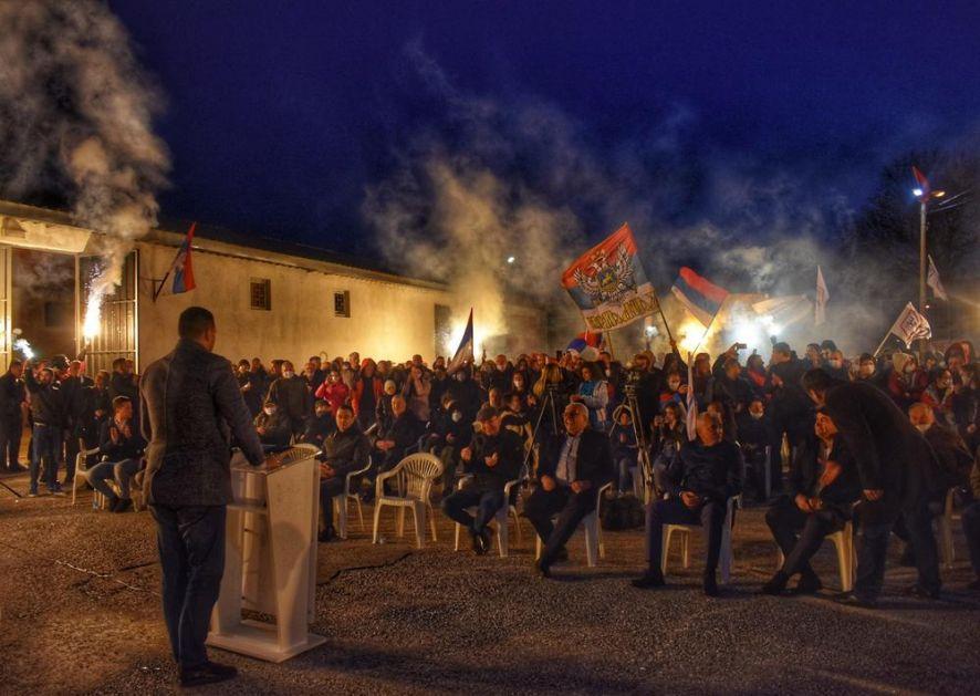 KOALICIJA ZA BUDUĆNOST NIKŠIĆA NASTAVILA KAMPANJU U KLIČEVU: Pobedom 14. marta pobedićemo mafiju, fašizam, i prostakluk DPS-a