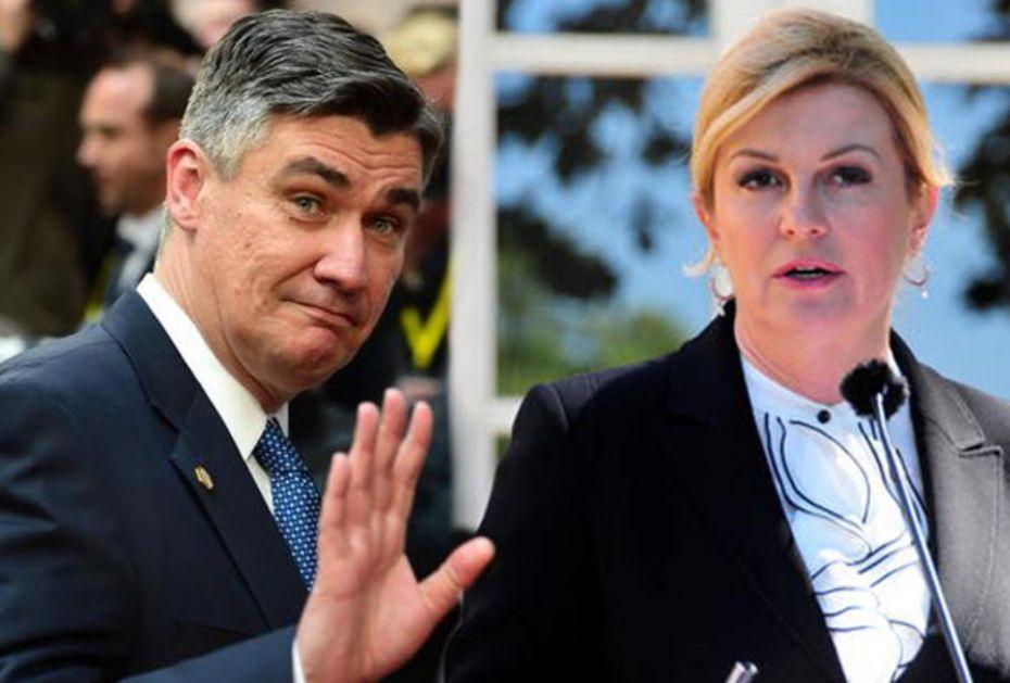 KOLINDA OSULA PALJBU PO SVOM POLITIČKOM PROTIVNIKU: Hrvatska neće nasesti na slogan Zorana Milanovića!