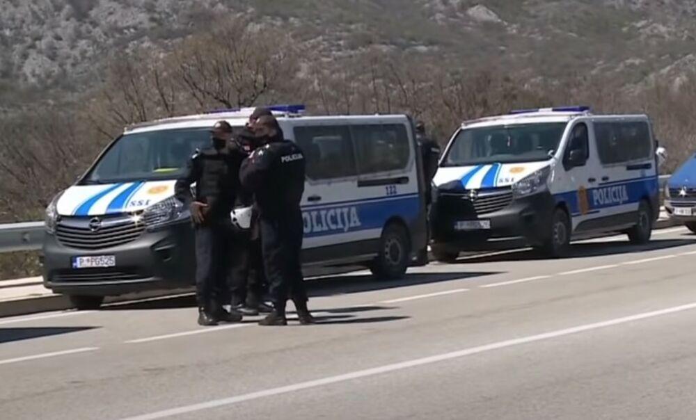 KOMITE OPET BLOKIRALE PUT NIKŠIĆ-PODGORICA: Krivokapiću dali tri dana da odgovori na njihove zahteve