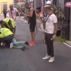 KOMPLET SNIMAK HAOSA - DISKVALIFIKACIJA: Vadili joj jezik! Prvo ga je UDARILA, POLOMILA mu nos (VIDEO)