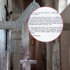 KOMŠIJE TO JE PRIMITIVNO, JADNO, PLITKO I ŠUPLJE! Na crkvi kod Splita osvanula skandalozna poruka protiv Srba