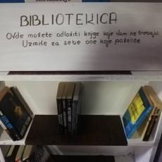 KOMŠILUK IZ RAJA U CENTRU PRESTONICE: Beograd dobio Bibliotekicu, uzmite knjigu, a nije na reckicu