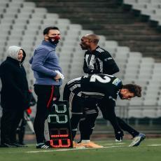 KONAČNO SE VRATIO: Ljajić ponovo zaigrao u crno-belom dresu (FOTO)