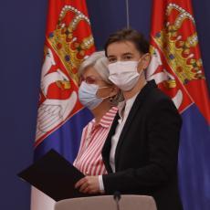 KONSULTACIJE O NOVOJ VLADI: Počeo sastanak Brnabićke sa Dačićem i Markovićem