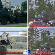 KONVOJ VOZILA PRIVUKAO PAŽNJU: Američke trupe na putu za Manjaču prodefilovale Banjalukom (VIDEO)