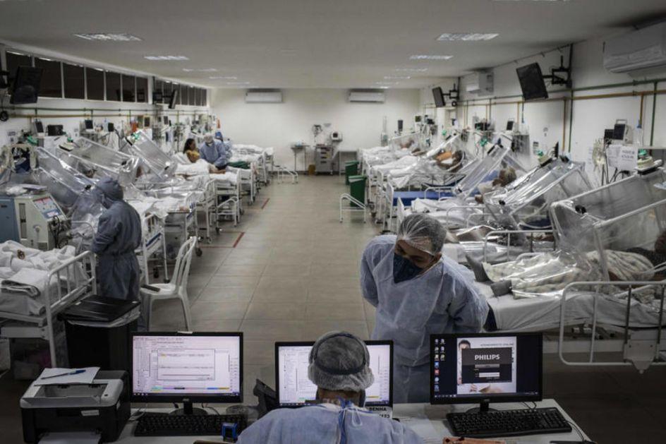 KORONA KOSI PO BRAZILU: U danu registrovano 80.508 novih slučajeva zaraze, raste i broj umrlih