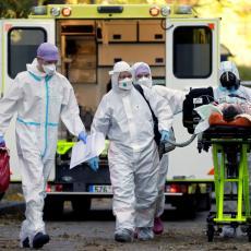 KORONA NE NAPUŠTA ZEMLJU U SRCU EVROPE: Nove brojke ne slute na dobro, u poslednjih 24 sata preminulo 16 osoba
