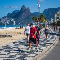 KORONA NE POSUSTAJE U BRAZILU: Danas registrovano 231 preminulih od opakog virusa