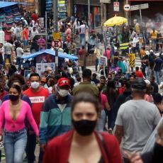 KORONA PAKAO U BRAZILU: Zabeleženo više od 15 miliona slučajeva zaraze, rekord i u broju preminulih