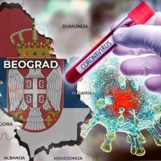 KORONA PRESEK PO GRADOVIMA: Beograd prvi na listi, u još pet gradova potvrđen dvocifren broj novoobolelih
