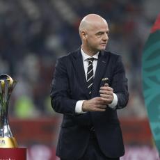KOVID STIGAO DO CIRIHA: Zaražen predsednik FIFA!
