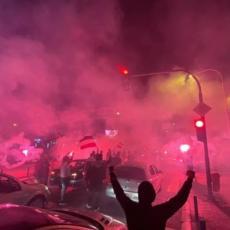 KRAGUJEVAC U PLAMENU: Navijači Radničkog proslavljali ulazak u Superligu!
