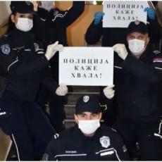 KRAGUJEVAČKA POLICIJA SE ZAHVALJUJE GRAĐANIMA: Zajednička borba protiv korone (VIDEO)