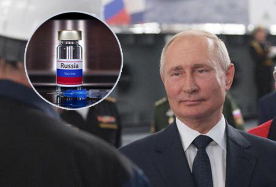 KREĆE MASOVNA VAKCINACIJA U RUSIJI: Evo koji datum je predložio Vladimir Putin