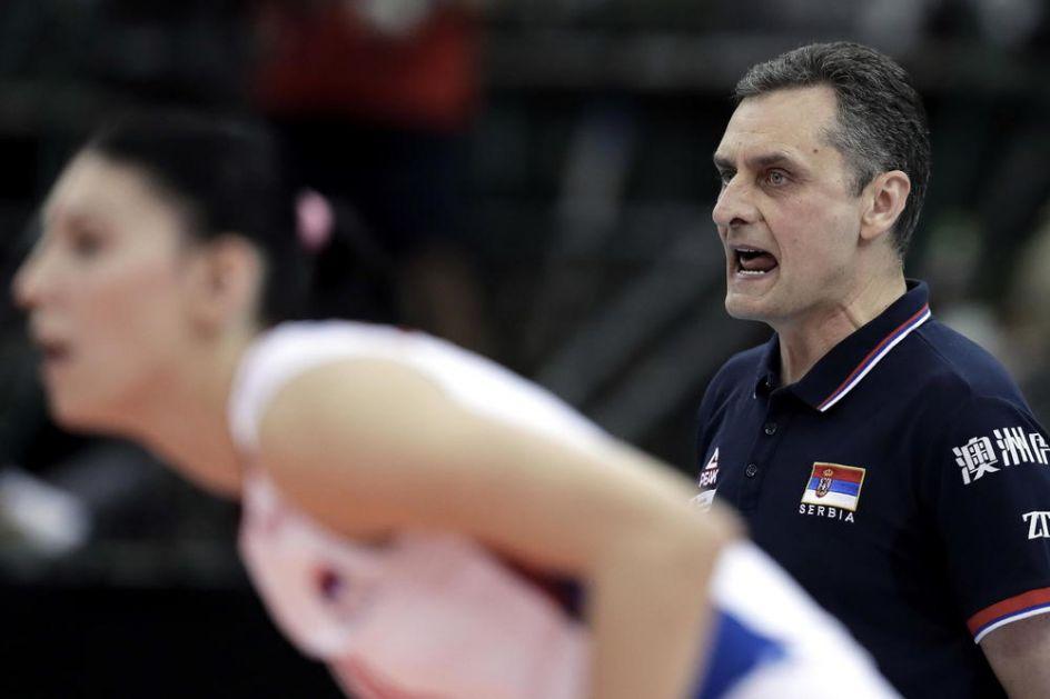 KREĆE OPERACIJA TOKIO: Selektor Terzić objavio širi spisak odbojkašica za Olimpijske igre