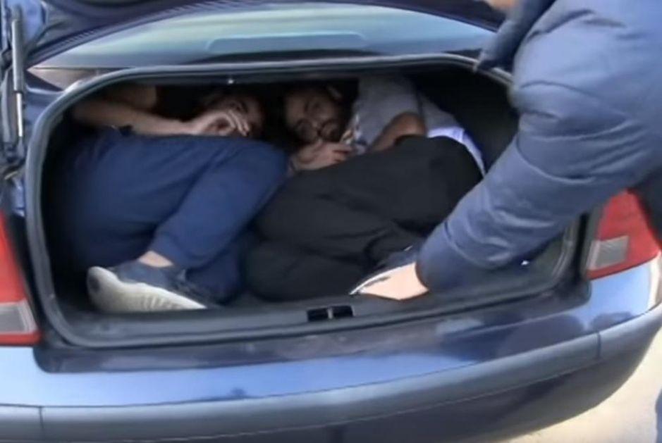 KRILI MIGRANTE U GEPEKU: Ovako su uhapšeni krijumčari u Srpskoj, prevozili Pakistance do Gradiške (VIDEO)