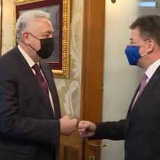 KRIVOKAPIĆ UBEĐEN DA ĆE CRNA GORA PRVA UĆI U EU: Sa Lajčakom u Podgorici razgovarao o evrointegracijama