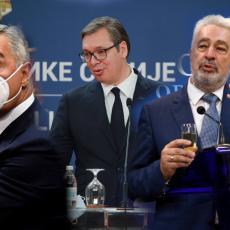 KRIVOKAPIĆEVO LICEMERJE Napadao Vučića da se sastaje sa Milom, a sada on TAJNO šuruje sa crnogorskim diktatorom