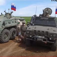 KROKODILI, RISI I TIGROVI IZDOMINIRALI NA SEVERU SIRIJE: Pogledajte susret ruskih oklopnih snaga sa Amerima (VIDEO)