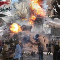 KUKAVIČKI NAPAD Bombardovanje Amerike izazvalo gnev sirijskog naroda, prete strašnom osvetom