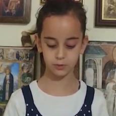 KUMČE MITROPOLITA U SUZAMA: Mala Una (8) ne može da dođe sebi zbog smrti Amfilohija (VIDEO)