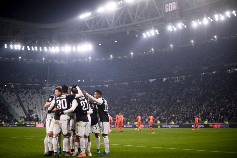 KUP ITALIJE: Juventus preko Rome do polufinala, Ronaldo načeo Vučicu