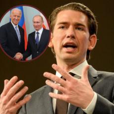 KURCU BI TO BILA VELIKA ČAST: Kancelar otkrio zašto bi voleo da se Putin i Bajden sastanu u Austriji