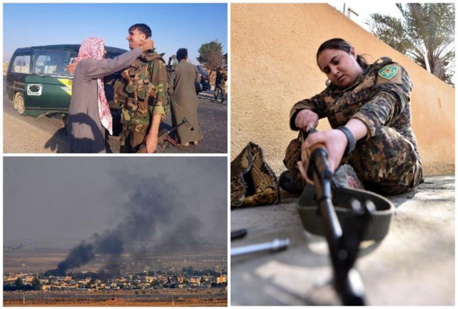 KURDI SE BORE KAO LAVOVI: Kurdski borci u kontraofanzivi protvi turske vojske i pobunjenika! Oslobodili Ras al-Ajin i napreduju!