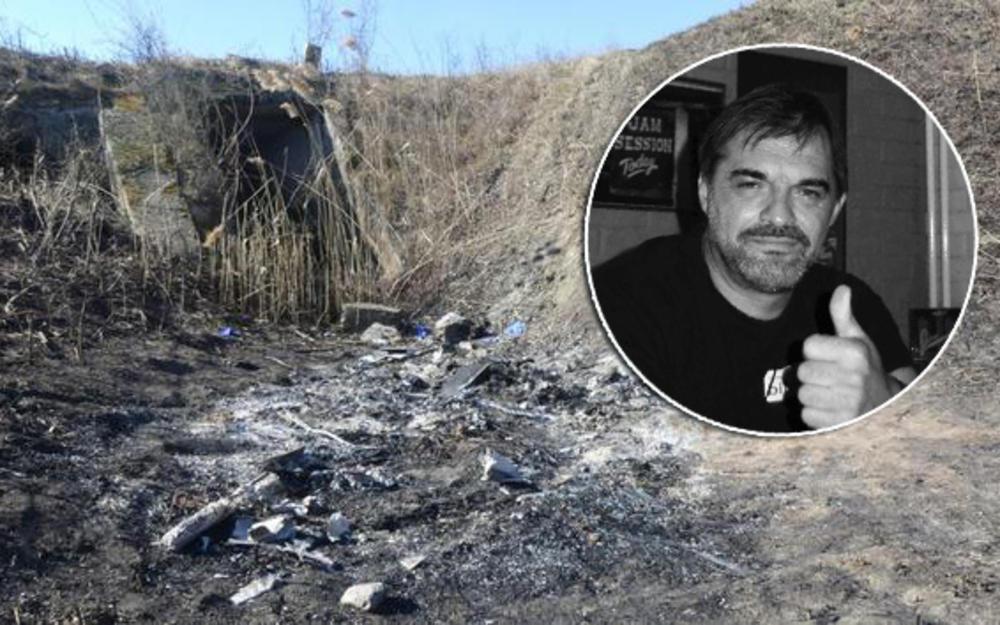 KURIR NA MESTU POGIBIJE MUZIČARA: Ugljenisan leš pronađen u kanalu kraj puta! Kikinđani JOŠ NE VERUJU DA JE PETAR MRTAV (FOTO)
