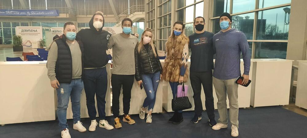 KURIR SAZNAJE, AMERIČKI VATERPOLISTI VAKCINISANI U BEOGRADU: Bodi me u levu ruku da pobedim Srbiju na Olimpijskim igrama