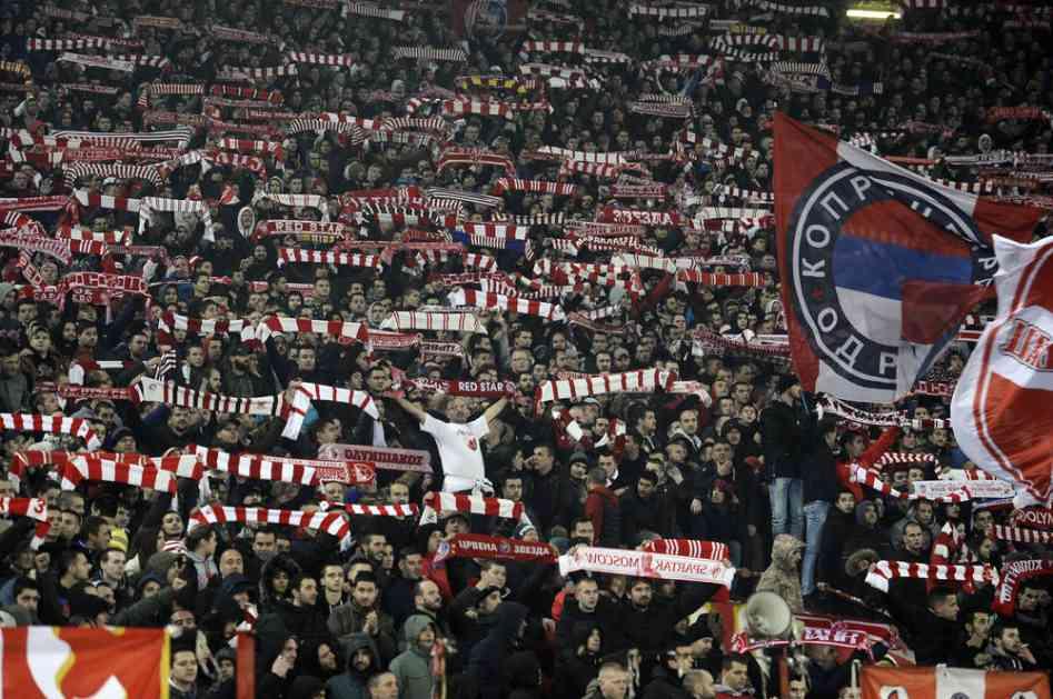 (KURIR TV) BRAĆA PREKO DRINE: Delije iz Republike Srpske bodre Zvezdu protiv CSKA