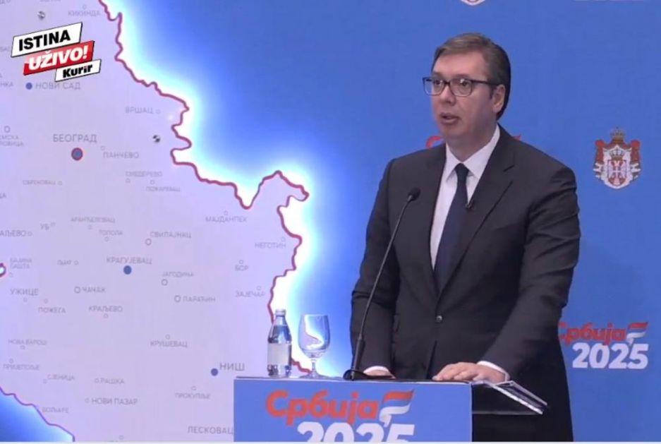 KURIR TV UŽIVO SRBIJA 2025 Vučić: Teške mere ali lekovite, 2025. prosečna plata 900 evra! Imaćemo koridor Vožd Karađorđe