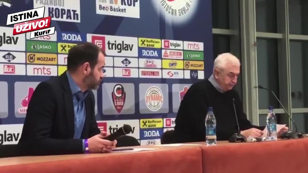 KURIR U NIŠU: Evo šta je rekao trener Zvezde Dragan Šakota o faulu u napadu Kevina Pantera!