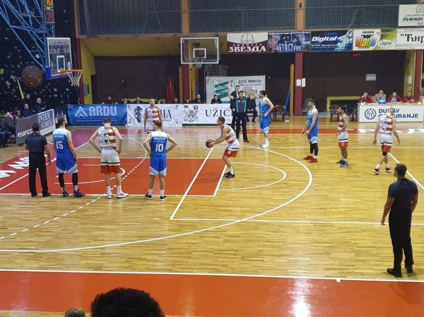 KURIR U UŽICU! DERBI PRIPAO DOMAĆINIMA: Košarkaši Slobode ubedljivo pobedili Novi Pazar