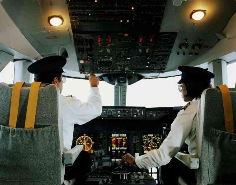 Kad se piloti potuku... u avionu!!!