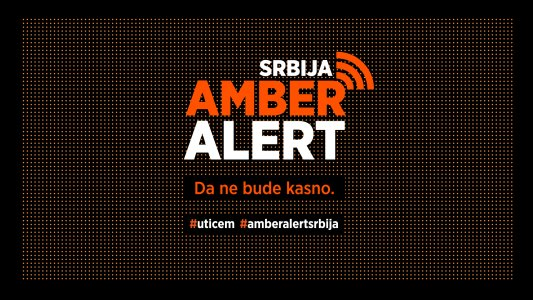 Kada će Amber alert zaživeti u Srbiji