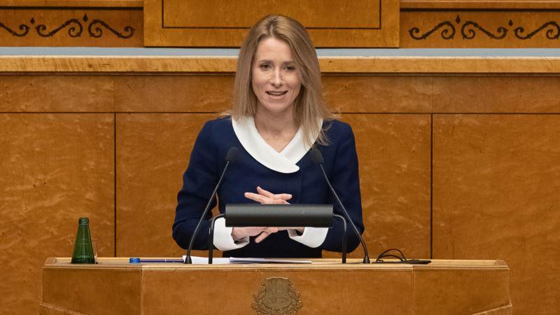 Kaja Kallas prva žena premijerka Estonije
