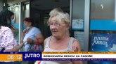 Kako do broja za pasoš u Novom Sadu: Neki ljudi su doneli i dušeke i stolice VIDEO