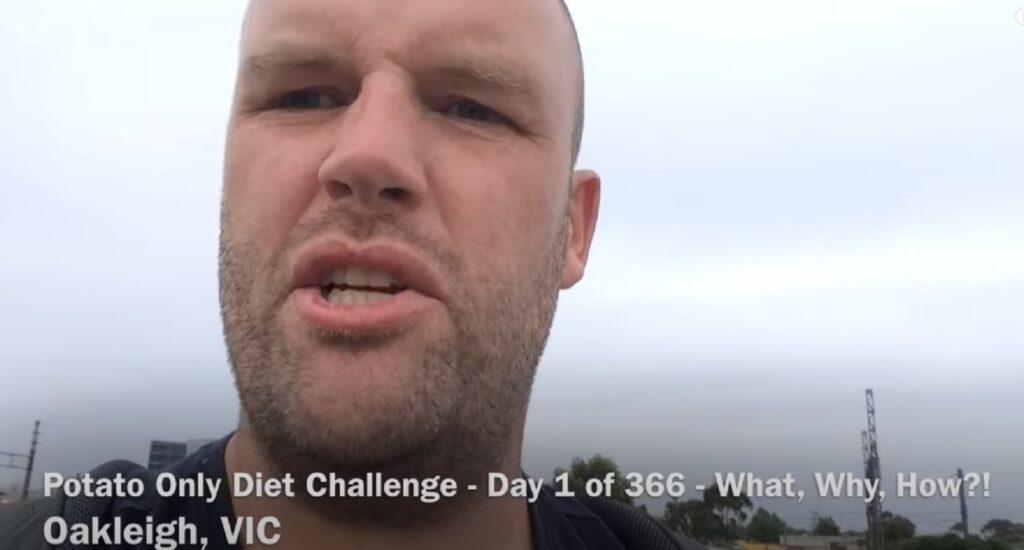 Kako izgleda čovek koji je godinu dana jeo samo krompir (VIDEO)