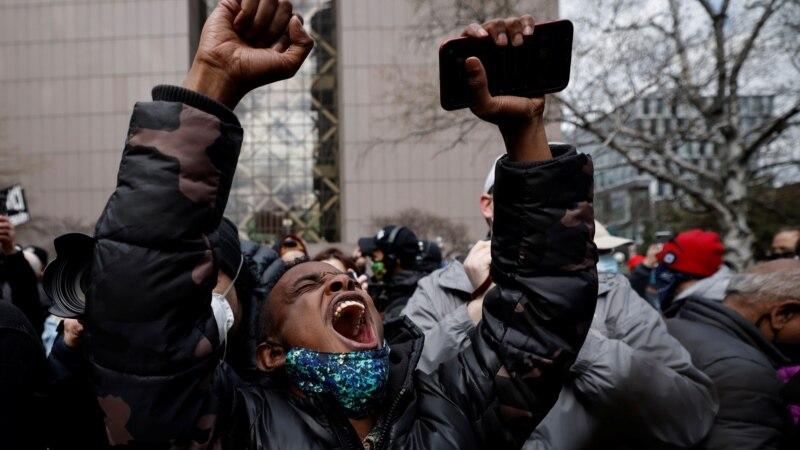 Kako je Amerika reagovala na presudu za ubistvo Džordža Flojda